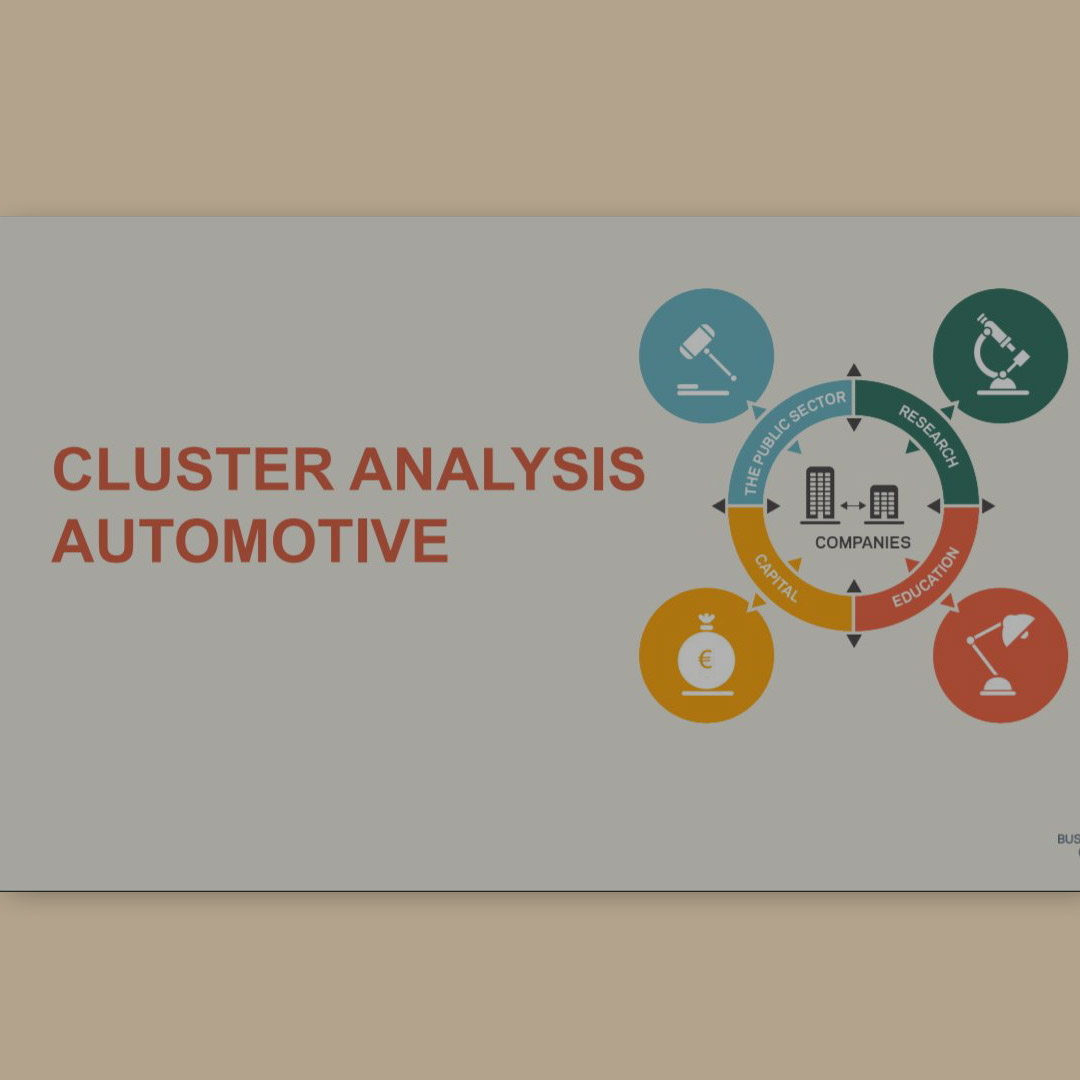Cluster analysis Automotive 2018