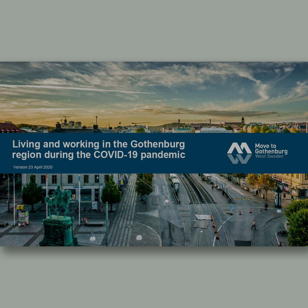 Living and working in the Gothenburg region during the COVID-19 pandemic