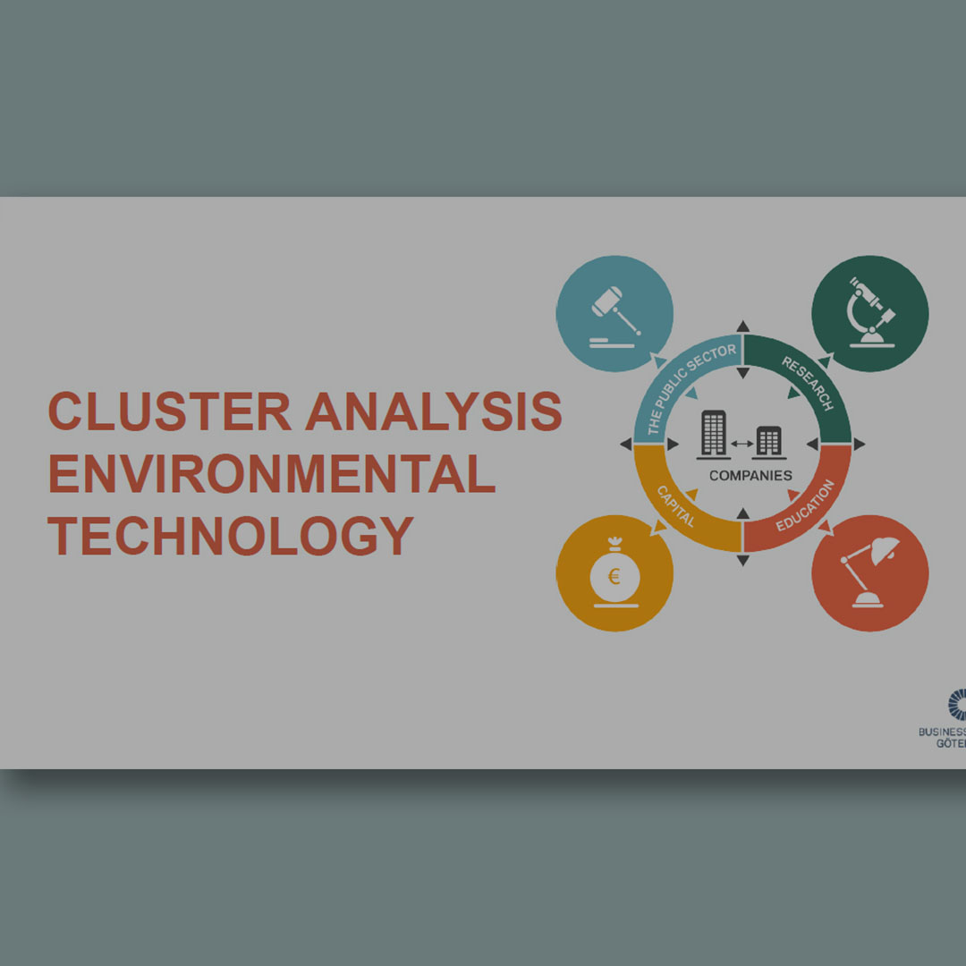 Cluster analysis Environmental Technology 2018