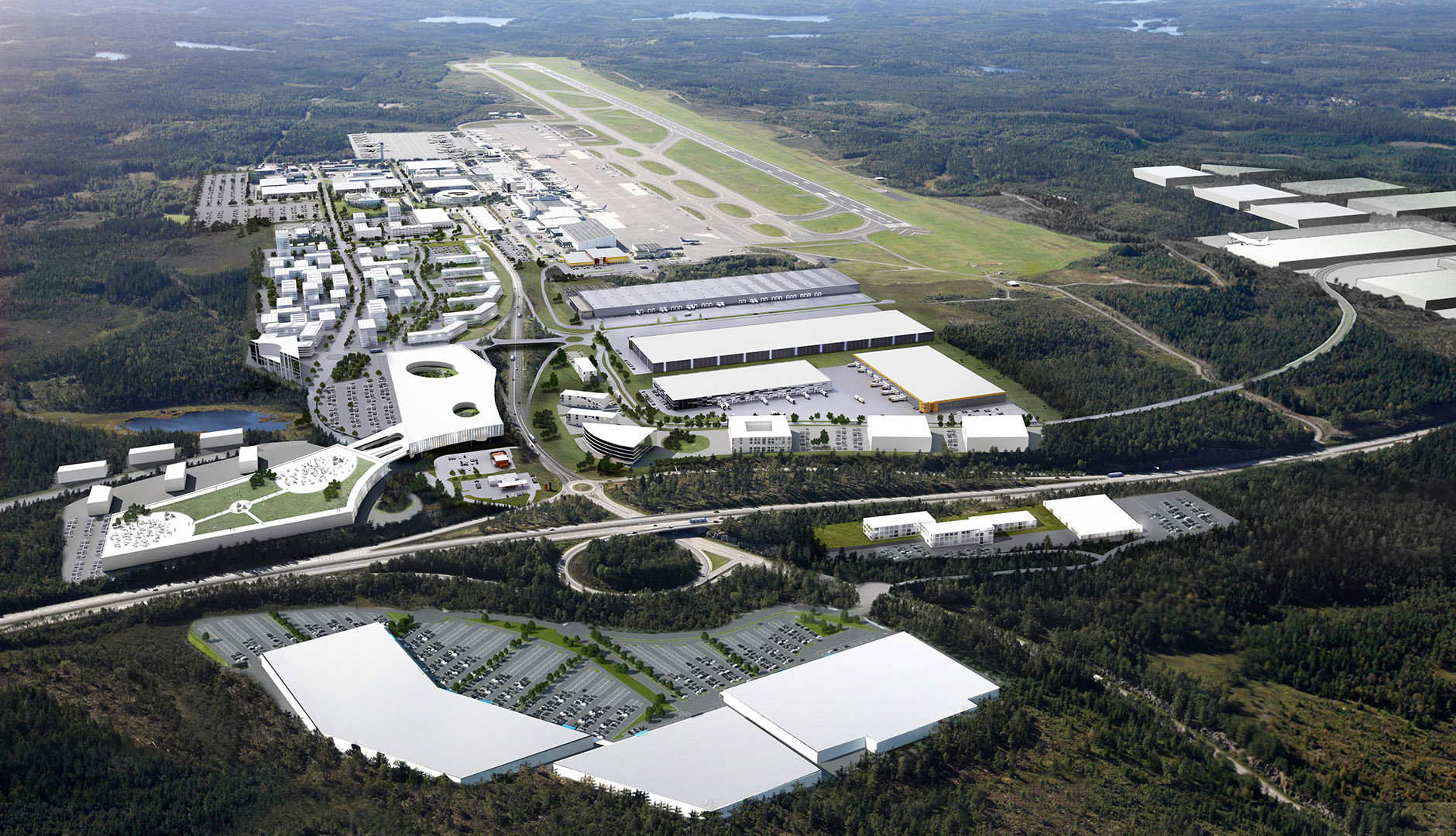 Göteborg Landvetter Airport and the Airport City development