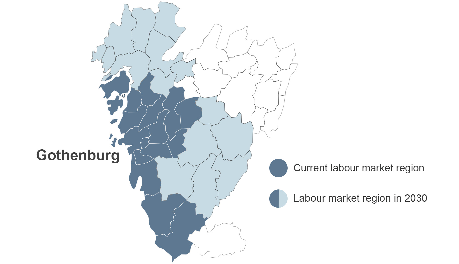 Labour market region - Gothenburg