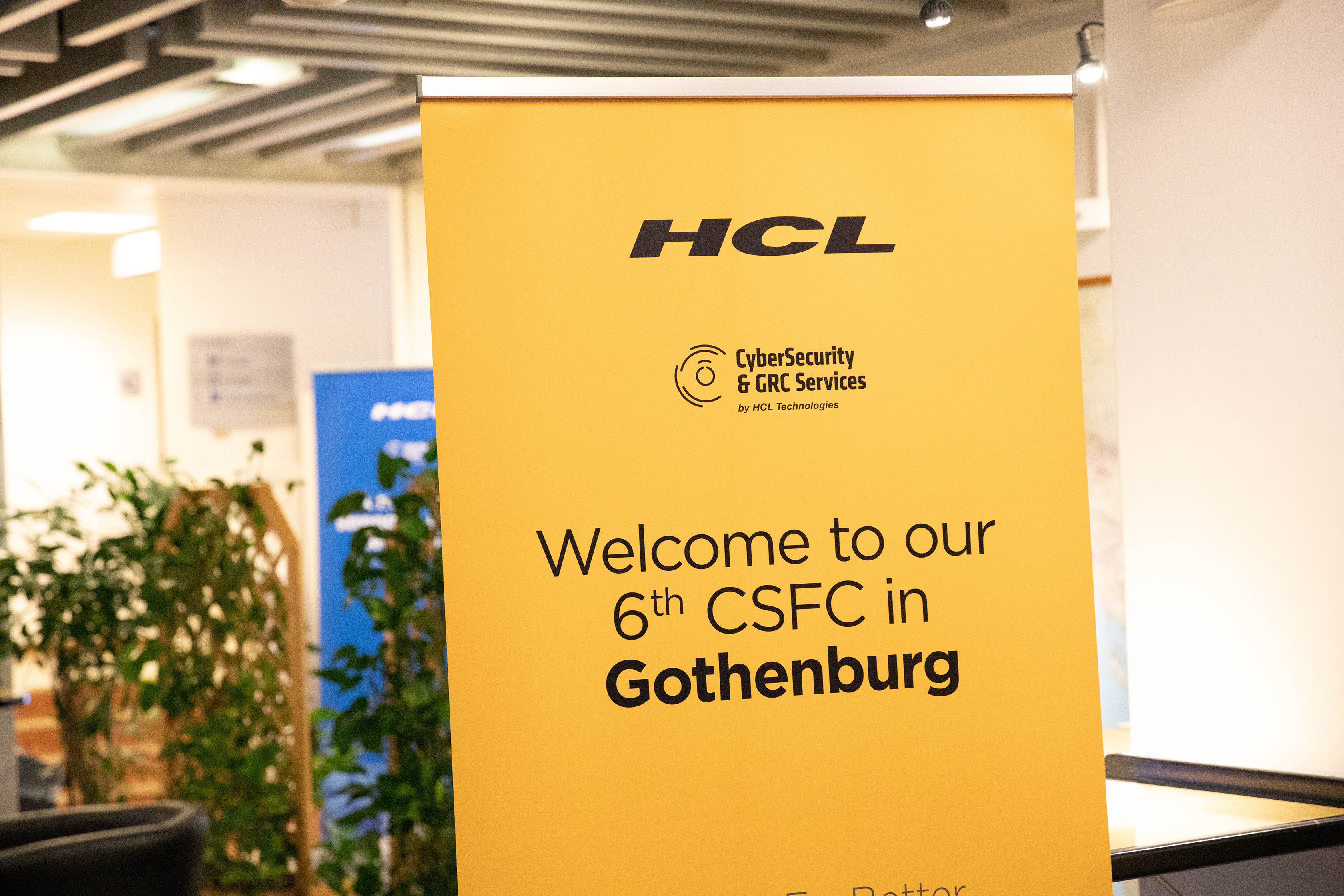 HCL opens first European cybersecurity centre in Gothenburg