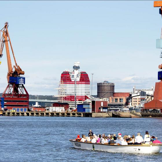 The harbour of Gothenburg