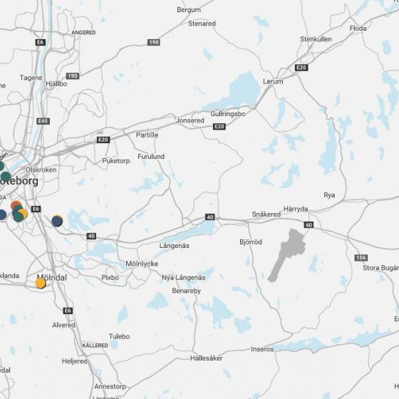 Find and learn more about Gothenburg's broad offering of testbeds
