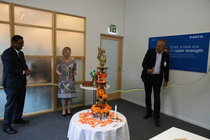 Opening ceremony of the HCL's cybersecurity centre