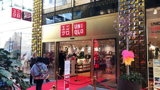 Uniqlo store opening in Gothenburg
