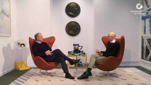 Martin Lundstedt, CEO AB Volvo and Henrik Einarsson, Business Region Göteborg