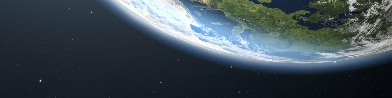 Looking at Earth from space