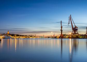 Gothenburg harbour