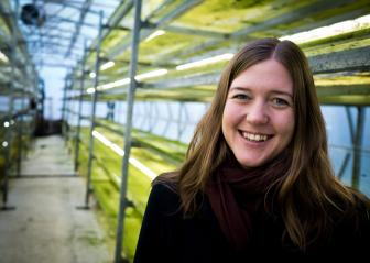 Sofie Allert, CEO of the green tech company Swedish Algae Factory. Photo: Swedish Algae Factory