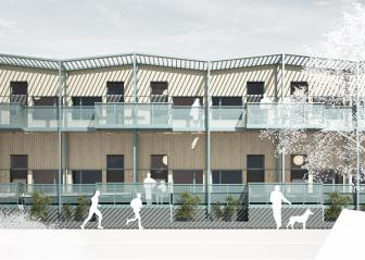 Waterfront Cabins - a new development in central Gothenburg
