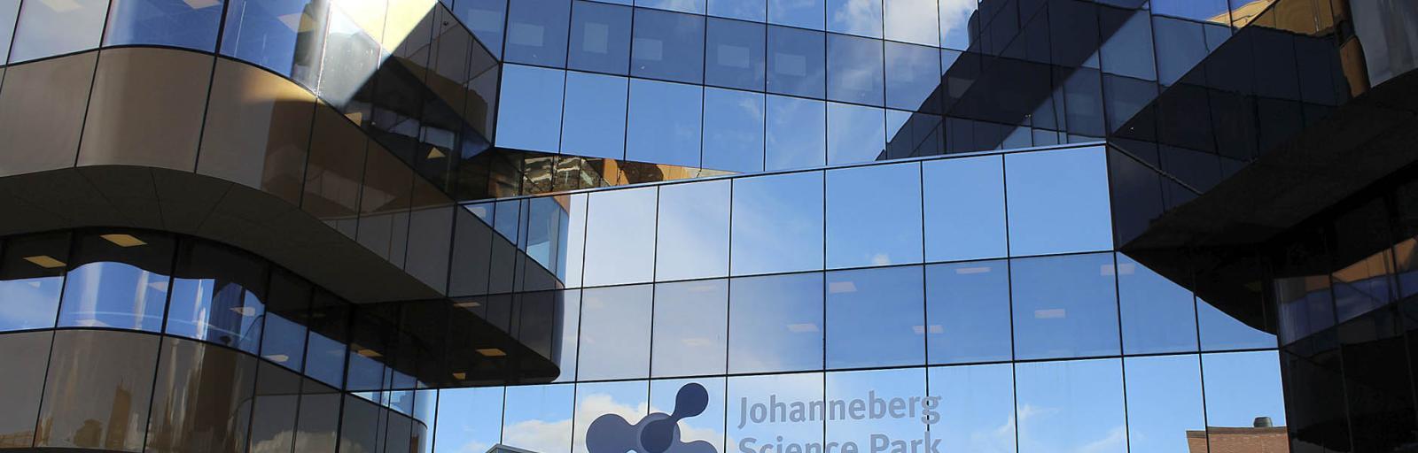Fasaden på Johanneberg Science Park